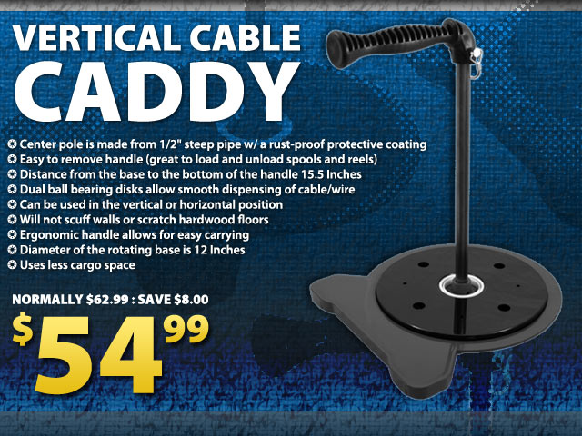 Vertical Cable Caddy