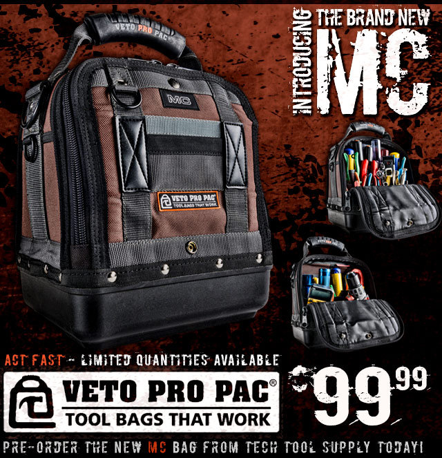 NEW Veto Pro Pac MC Bag