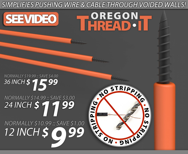 Oregon Thread-It Rods