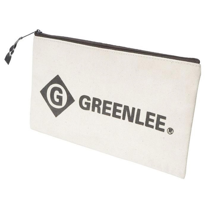Greenlee 0158-14 Heavy Duty 12 Inch Canvas Zipper Bag