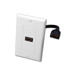 Vanco HDMI Pigtail Wall Plate