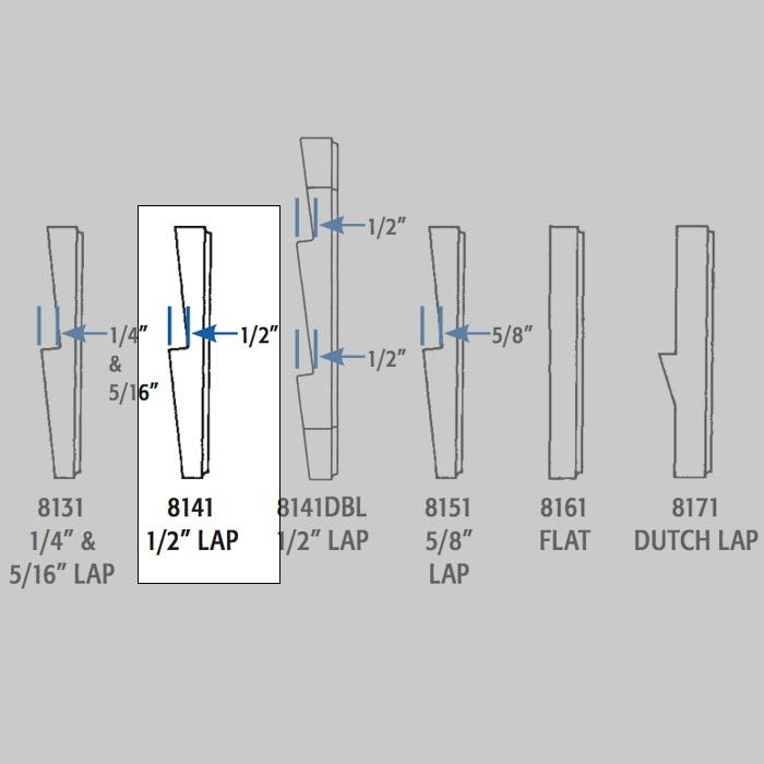 Arlington Siding Mounting Kit 1 2 In Lap 7in X 7in