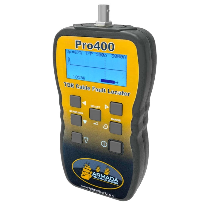 Coax Fault Locator : Armada pro graphical tdr tone cable and fault locator