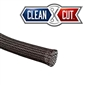 1/4in Clean Cut Exp. Sleeving Black - 100'