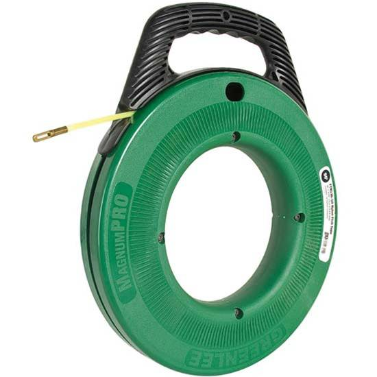 Greenlee nylon fish tape 3 16in x 50ft for Greenlee fish tape