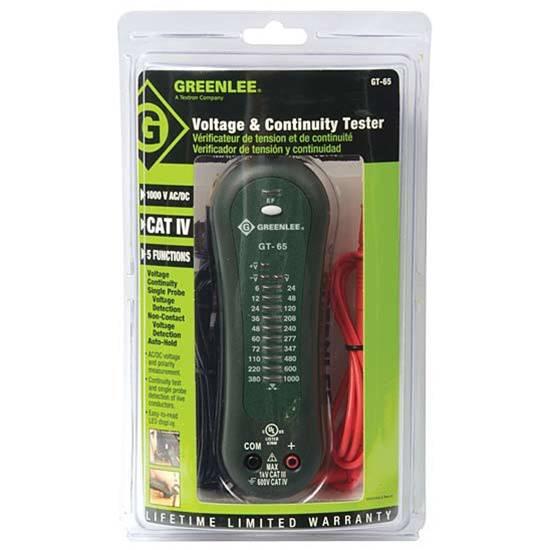 Greenlee Electrical Tester : Greenlee gt voltage detector