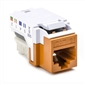 HellermannTyton CAT6 RJ45 Insert - Orange