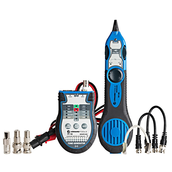 Multi Cable Tester : Multi function cable tester tone probe kit