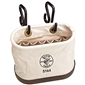 Klein Tools Aerial Oval Bucket 15 Pockets with Hooks