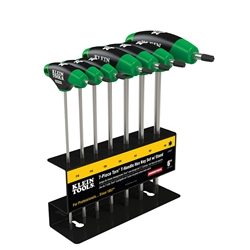 Klein Tools Journeyman 7Pc Torx  T-Handle Set With Stand