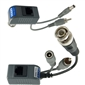 Pair of 1 Channel Passive Video/Audio Balun + Power