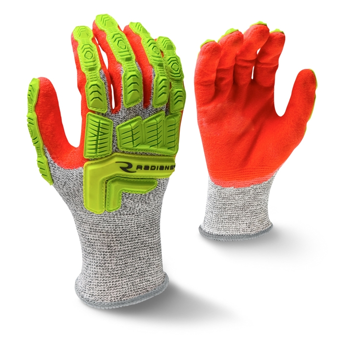 Radians Sandy Foam Cut Level 5 Work Gloves Large