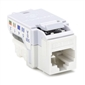 HellermannTyton CAT6 RJ45 Insert - White