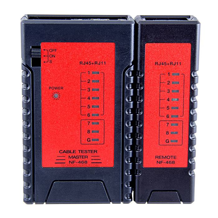 Pocket Cat5e Cat6 Cat7 Network Cable Tester