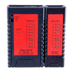 Pocket CAT5e/CAT6/CAT7 Network Cable Tester