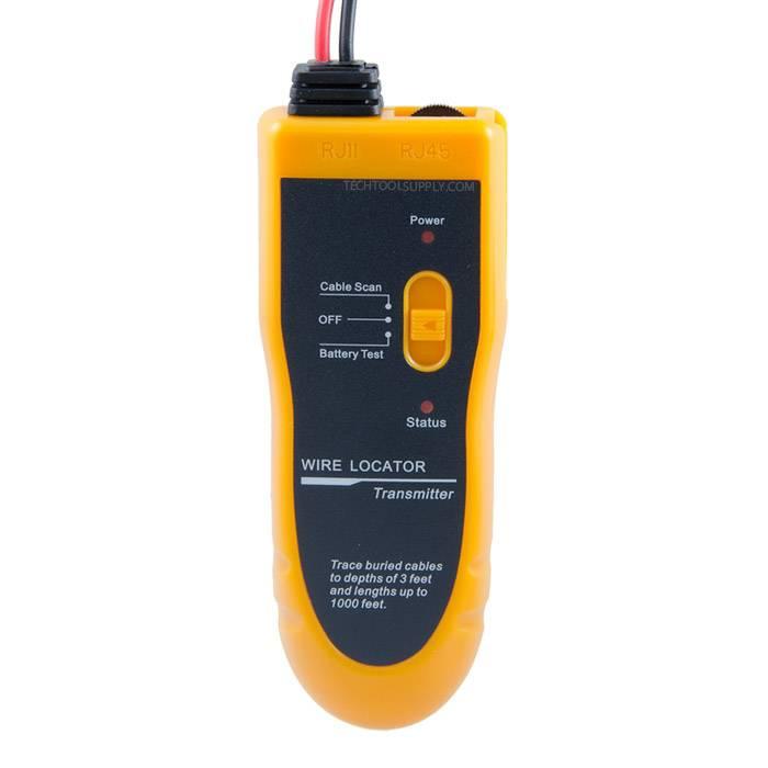 In Wall Amp Underground Wire Toner Tracker Kit