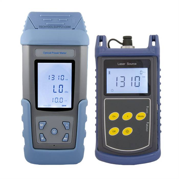 Optical Ports For Meters : Rmt laser source optical power meter to