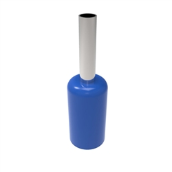 Insulated 14AWG Wire Ferrule - 100pc Bag - Blue