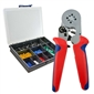 802 Piece Insulated Ferrule Kit w/ Crimper
