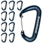 Tech Tool Supply Locking Carabiner 80mm - 10 Pack