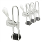 TECH-CLIP 4-Pack with Locking Carabiner