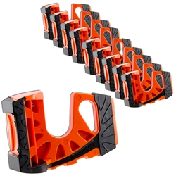 10-Pack Wedge-It Ultimate Door Stop - Orange