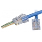EZ-RJ45 CAT6+ Connectors - 50 Pack