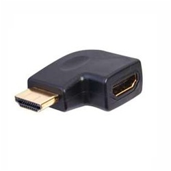 Vanco Right Angle Vertical Flat Left HDMI Adapter
