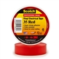 3M Scotch Vinyl Electrical Tape 35 - Red