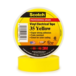 3M Scotch Vinyl Electrical Tape 35 - Yellow