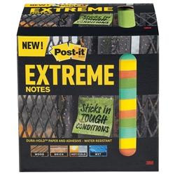 3M Post-It Extreme Notes - 12 Pads