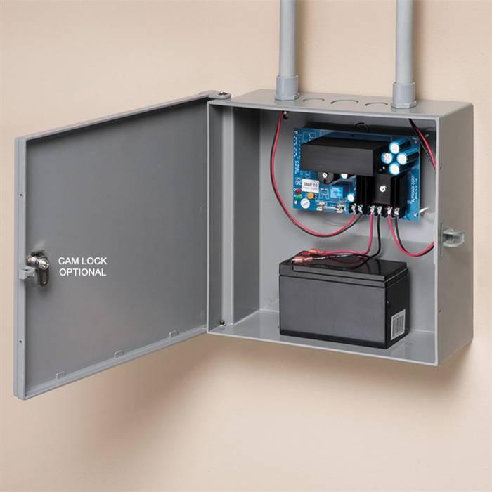 non metallic enclosure box 12x12x4 rh techtoolsupply com Low Voltage Enclosures Weatherproof Wiring Enclosures