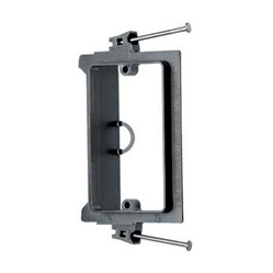 Arlington Single-Gang Nail On Low Voltage Mounting Bracket