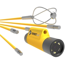 Cable Ferret 720p WiFi Glow-Rod Inspection Camera