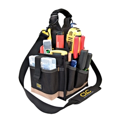 CLC 23 Pocket Electrical Tool Pouch w/ Strap