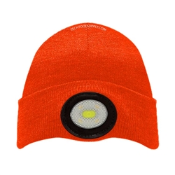 Unilite USB Rechargeable 150 Lumen Beanie Headlight - Orange
