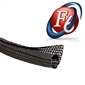 1 1/2in F6 Flexible Wire Wrap - Black 25'