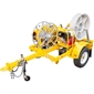 GMP Sidewinder Fiber Pulling Trailer w/ Electric Key Start