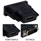 QVS Male DVI to Female HDMI Adapter