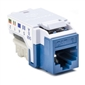 HellermannTyton CAT6 RJ45 Insert - Blue