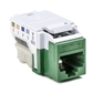 HellermannTyton CAT6 RJ45 Insert - Green