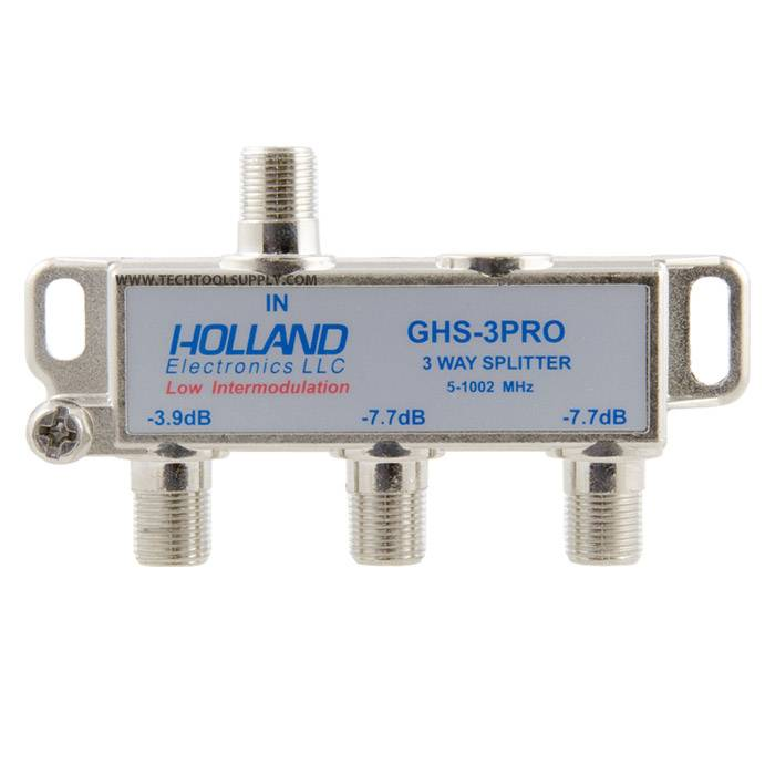 3 Way Cable Splitter : Way digital cable splitter