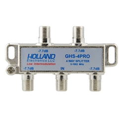 Holland 4-Way Digital Cable Splitter