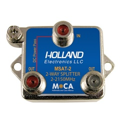 Holland Electronics MoCA 2-Way Splitter for DirecTV