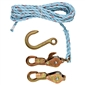 Klein Tools Block & Tackle w/ Standard Snap Hooks