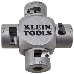 Klein Tools Large Cable Stripper - 250MCM, 4/0, 3/0, 2/0