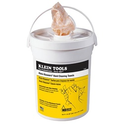Klein Tools Kleaners Hand Cleaning Towels - 72ct Bucket