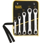 Klein Tools Ratcheting Box Wrench Set - 5pc