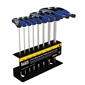 Klein Tools 10 pc MET Ball-End T-Handle Set with Stand