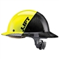 Lift DAX Carbon Fiber Full Brim 50-50 - Yellow/Black